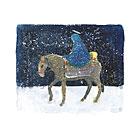 """""""Mary"""" Christmas card"""